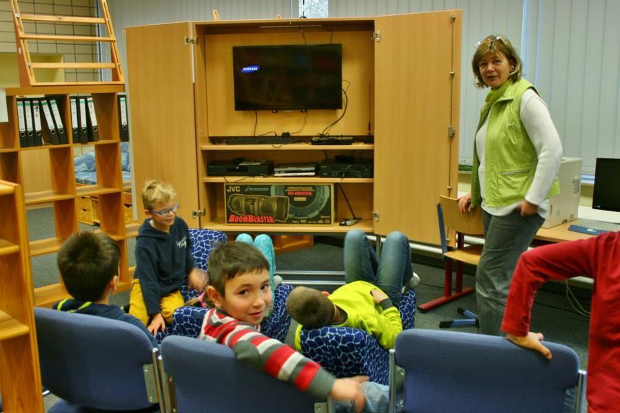 Medien in der Bücherei
