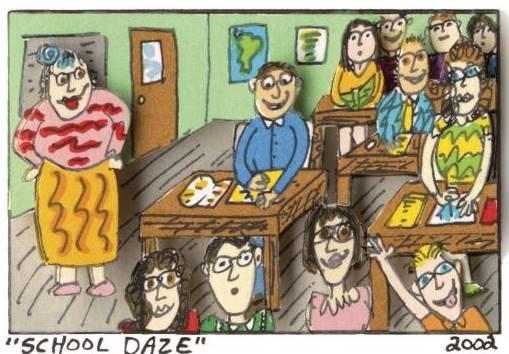 © James Rizzi:School Daze