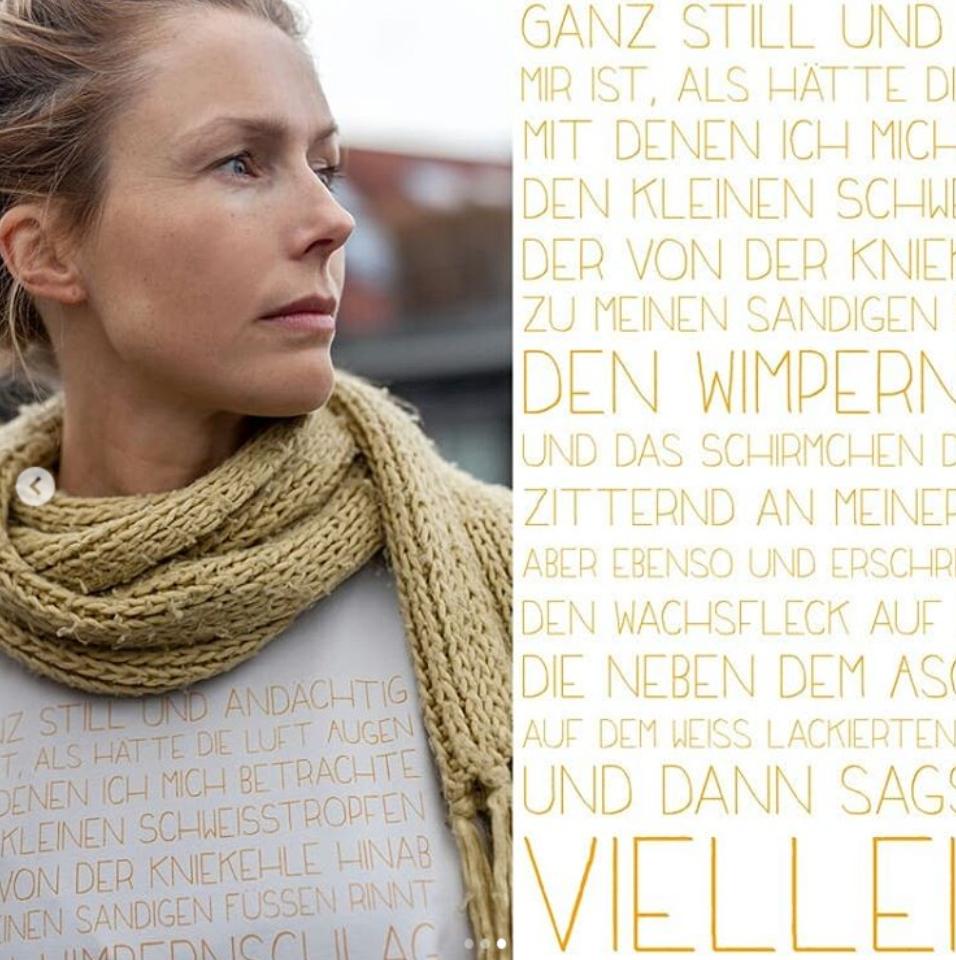#zartaufweiss #poetryshirt #julianohr #dankeschön