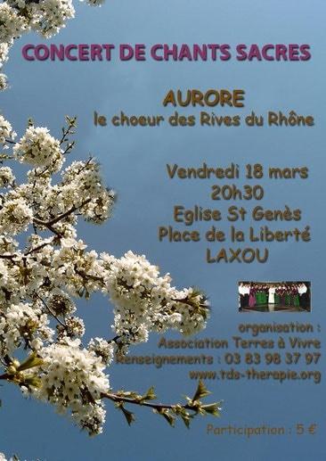 Chorale Aurore - Rives du Rhône - Association Terres à Vivre