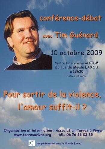 Tim Guénard - Association Terres à Vivre