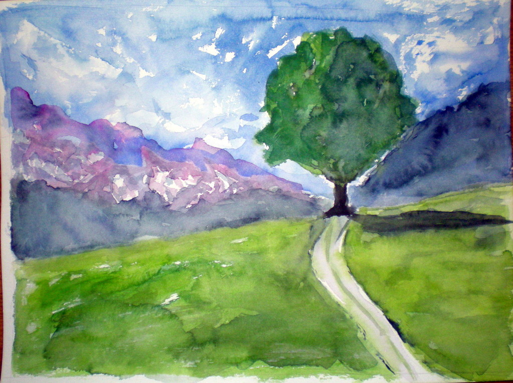 """Landschaft VI"""