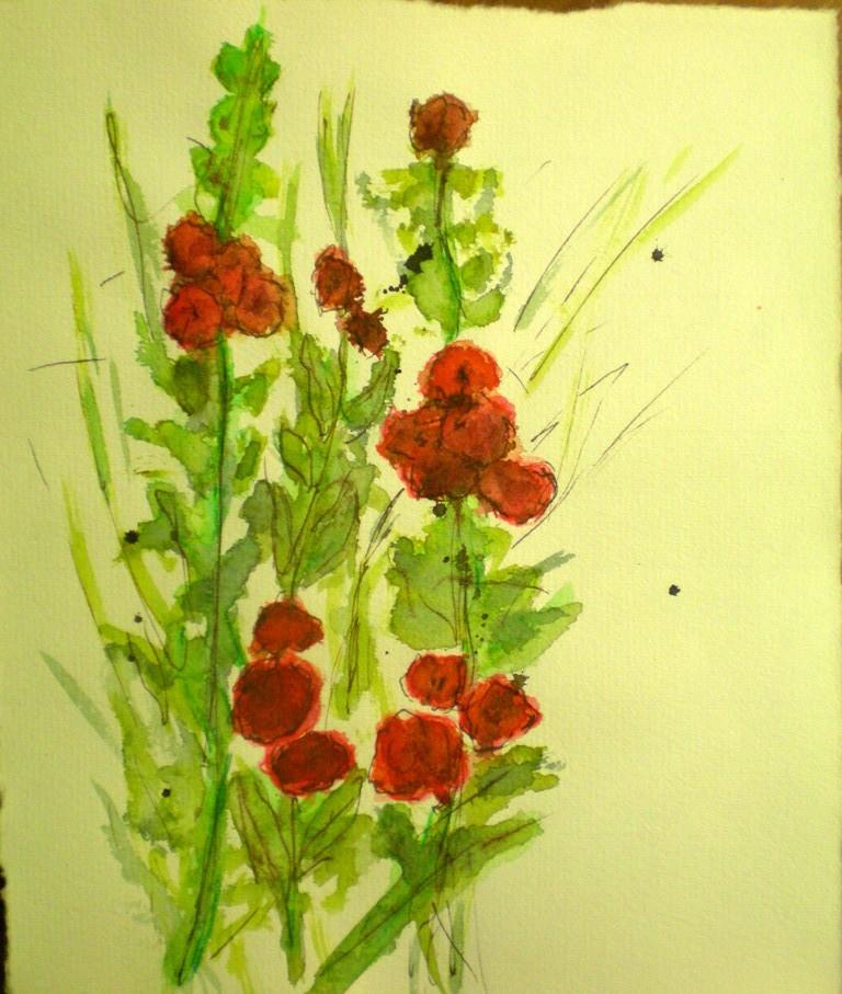 """Blumen rot"""