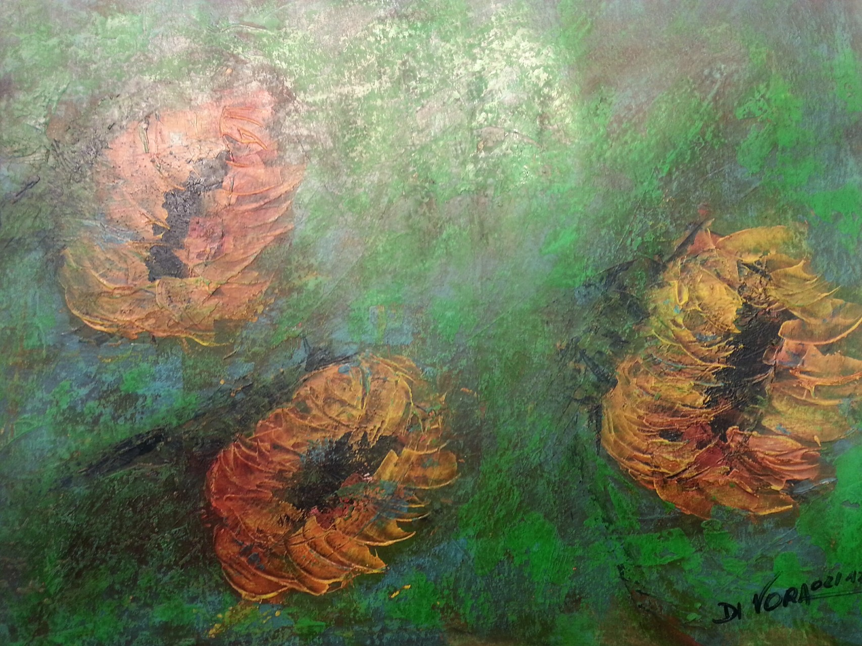 """""""Sonnenblumen im Wind"""""""