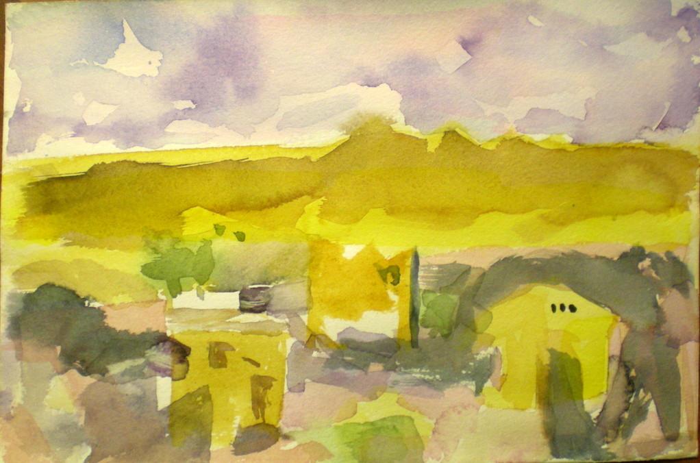 """""""Landschaft II - Ingres"""""""