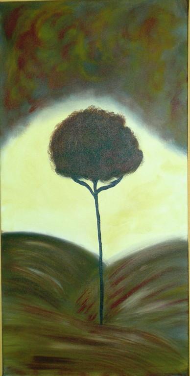 """Baum braun"""