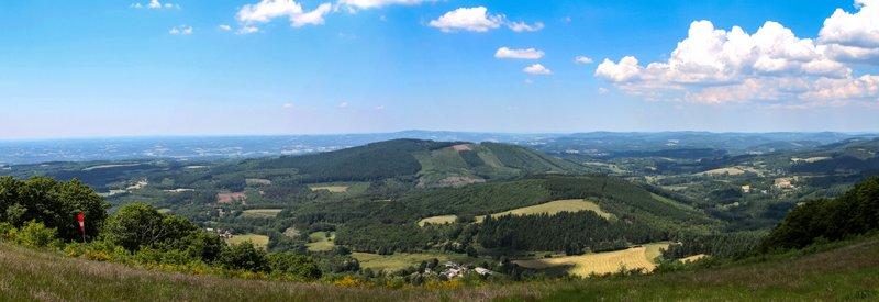 Panorama Puy de la Monédière