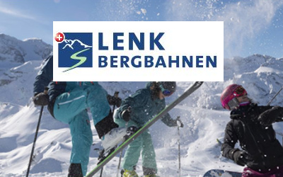 Schöner Skiort Berner Oberland
