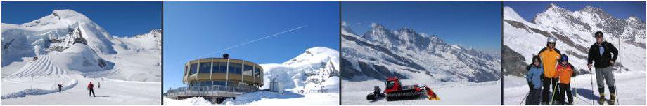 sommer skifahren schweizer alpen