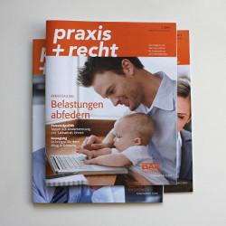 DAK-Gesundheit Mitgliedermagazin praxis+recht