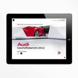 Audi Geschäftsbericht 2012 APP
