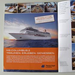 Anzeigengestaltung für Hapag-Lloyd Kreuzfahrten