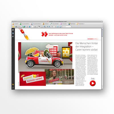 Vodafone Newsletter Zusammenwachsen