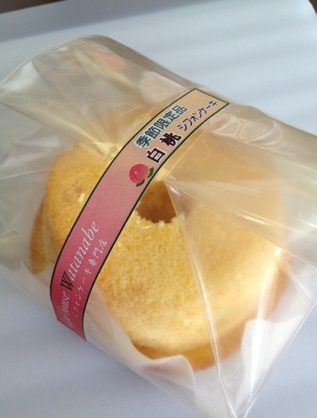 白桃:甘ーい香りが人気の夏季限定商品