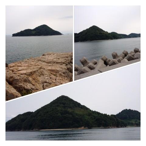 れもんを栽培している無人島の尾久比島