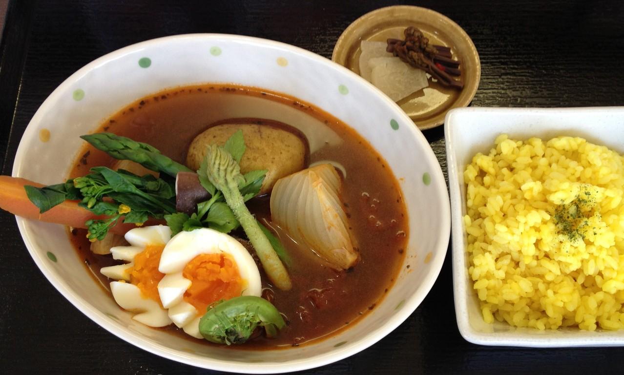 季節野菜のスープカレー