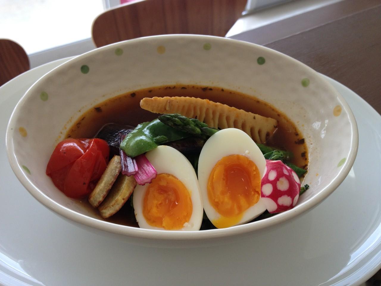 春野菜のスープカレー