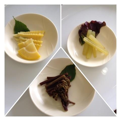 山菜ピクルス