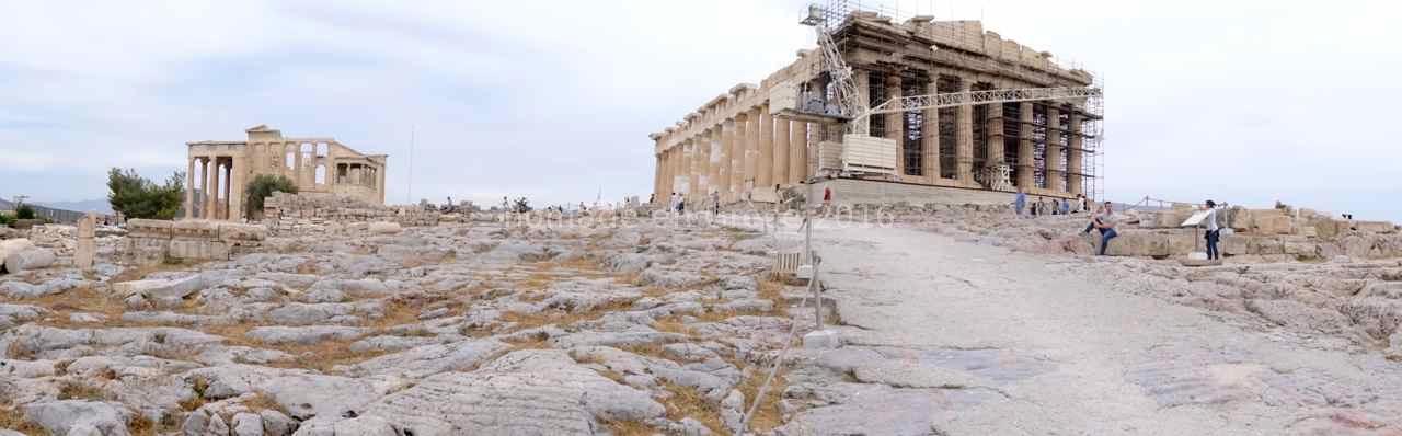 Vue générale de l'Acropole