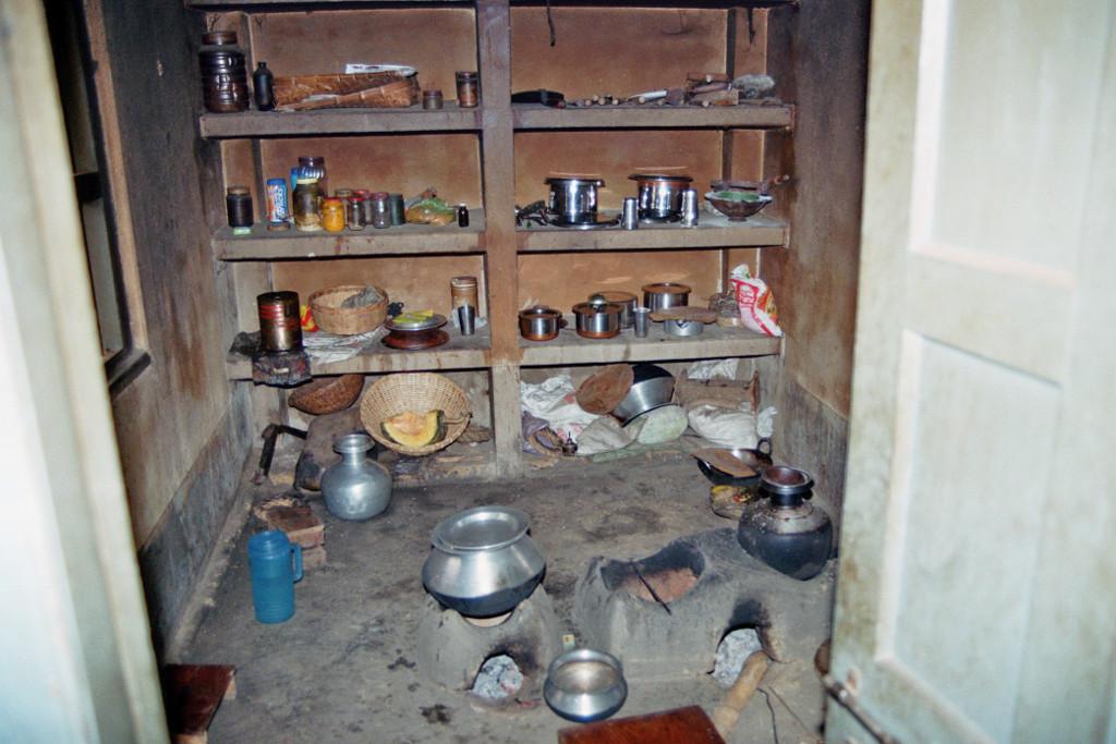 küche im Pfarrhaus der Norbert Mission