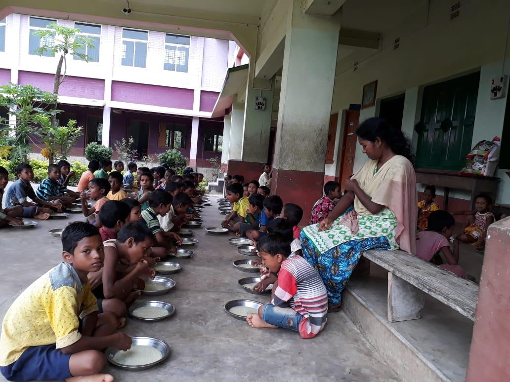 Mittagessen im Hostel