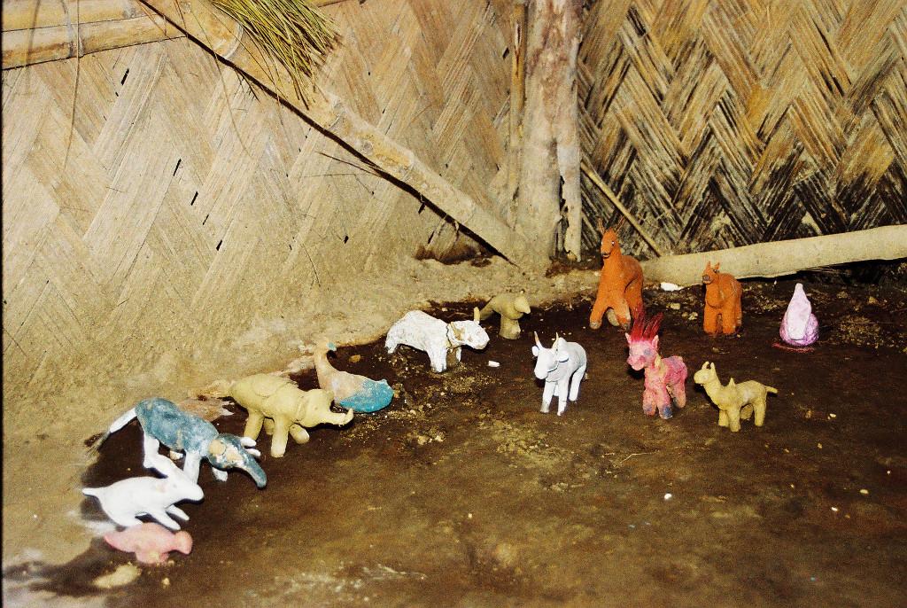 selbstgebasteltes Spielzeug für die Kindergartenklassen