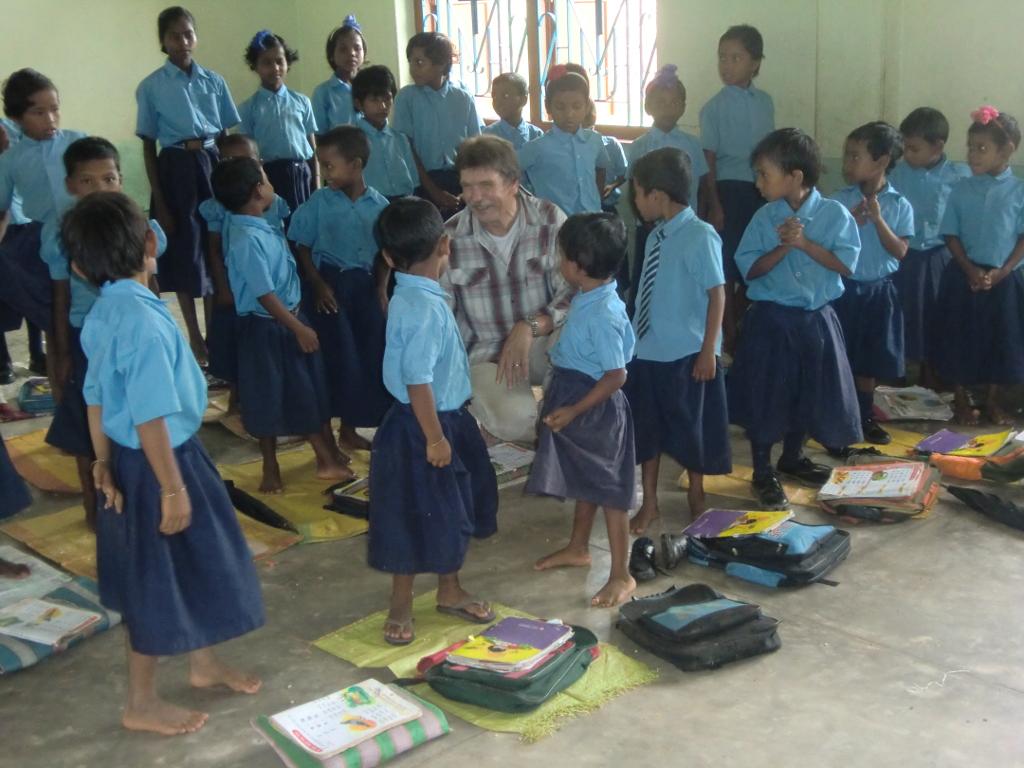 in den neuen Schulräumen ab 2009
