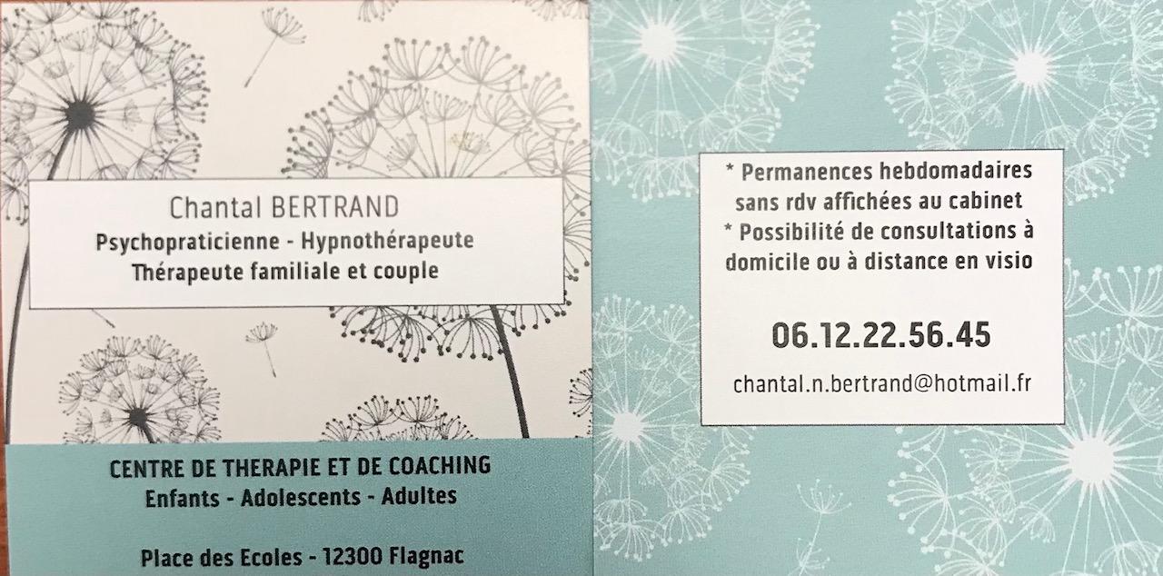 Nouvelle adresse pour Chantal Bertrand