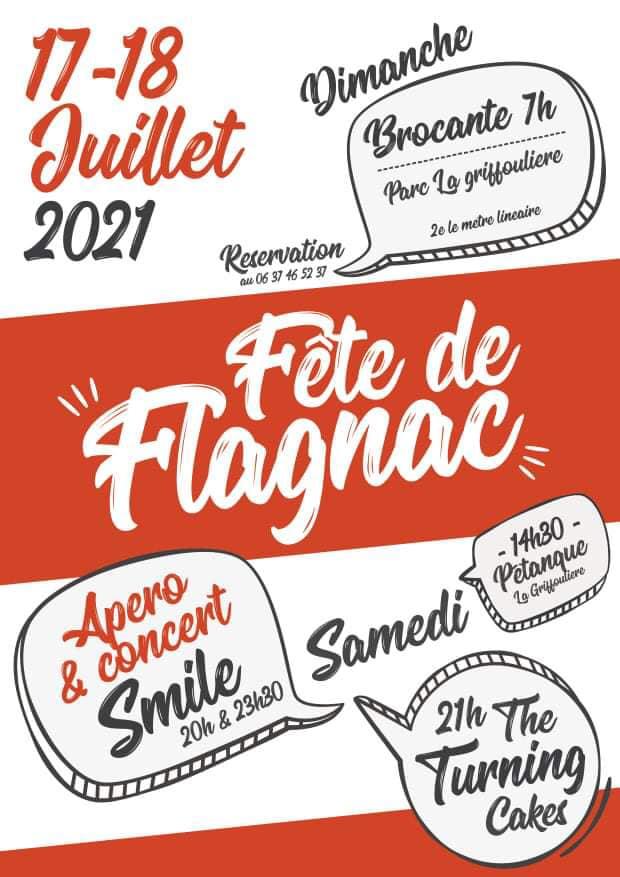 Fête votive de Flagnac 17 et 18 juillet 2021