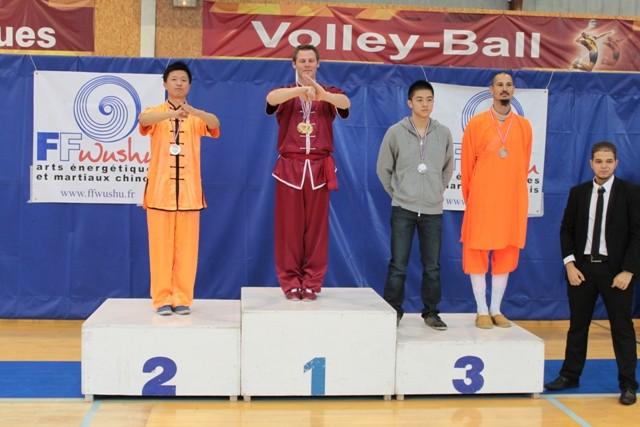 M Jacques Hu : Médaille d'Argent (Shaolin)