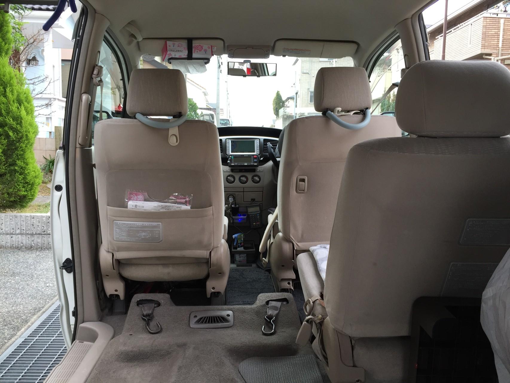 神戸市介護タクシーうえだケアサービス 神戸市北区介護タクシーうえだケアサービス 車内