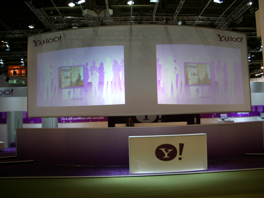 Fair Dusseldorf - Dmexco - Projection - Video - Displays - IT