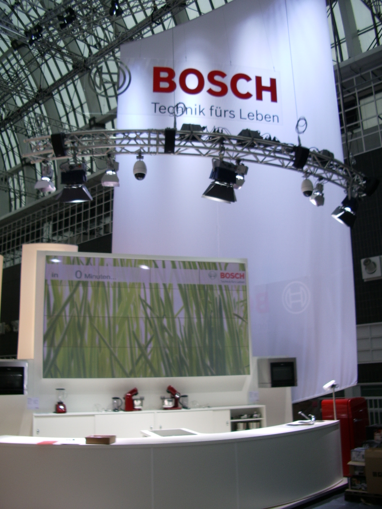 Fair Frankfurt - Ambiente - Lighting - Truss - Rigging - Sound - Projection - Seamless Videowall