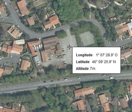 Clos Margat La Rochelle Position GPS