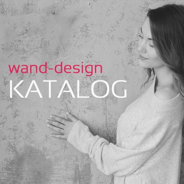 Wandgestaltung, Oberflächendesign, Kreativtechniken, Katalog