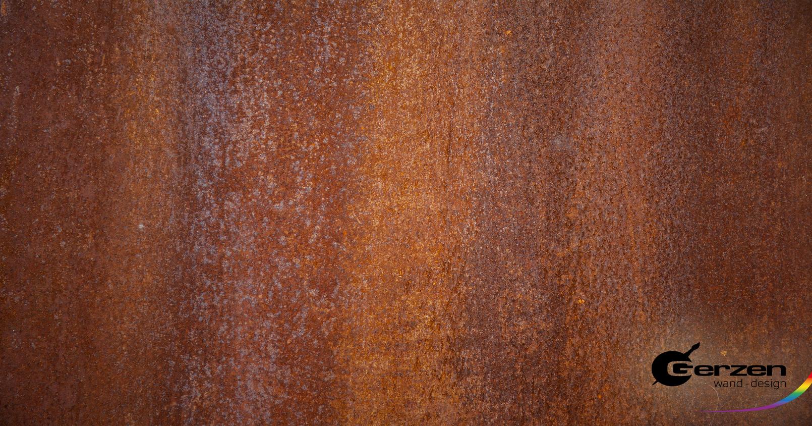 Metallrost-Optik, Rosteffekt