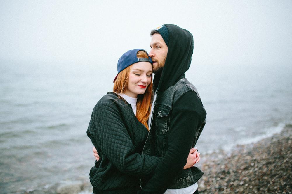 nienhagen strand, ostsee, baltic sea, paar, engagement, fotograf, magdebug, thomas sasse, meer, liebe, nebel, hochzeitswahn