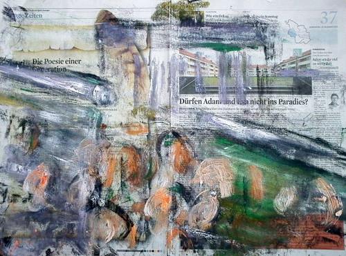 Die Befreiung 1968, Abdruck, 100 x 80 cm