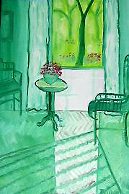 Das grüner Zimmer in Levante