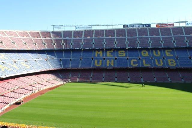 Das Stadion Barcelona