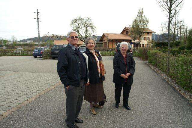 Hans & Maria Fahrni mit Frieda Zysset