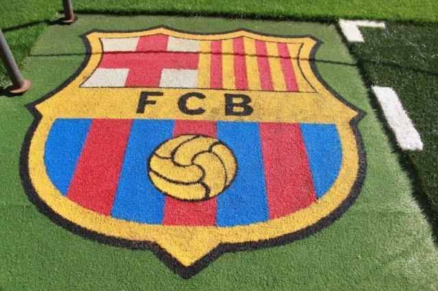 Das Club Emblem von Barcelona