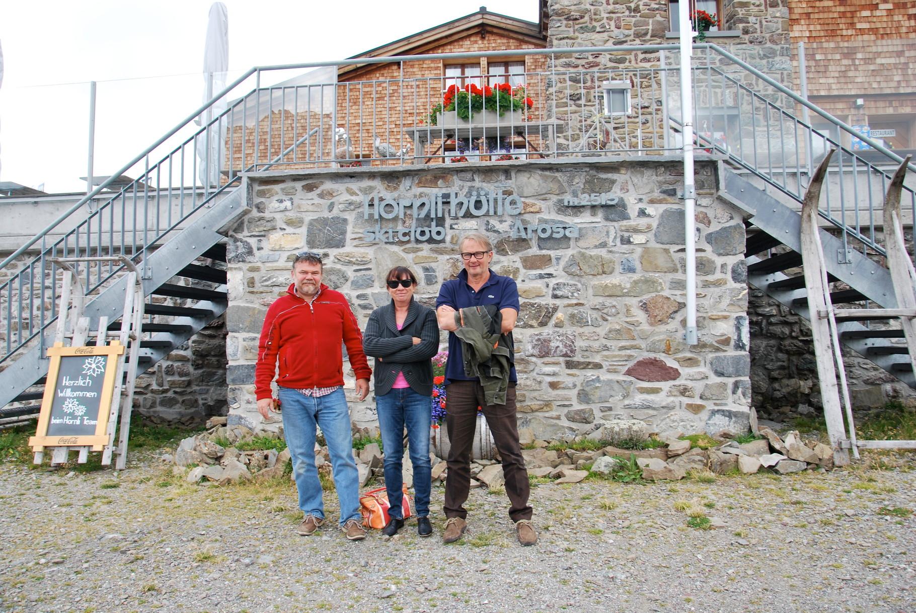 Walter Massa zu Besuch in Arosa