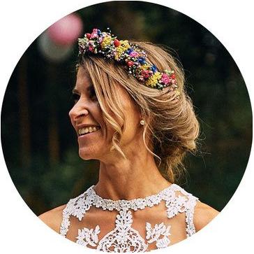 Branding für deine Hochzeit: Hochzeits-Papeterie für Michaela Kießling, glückliche Braut