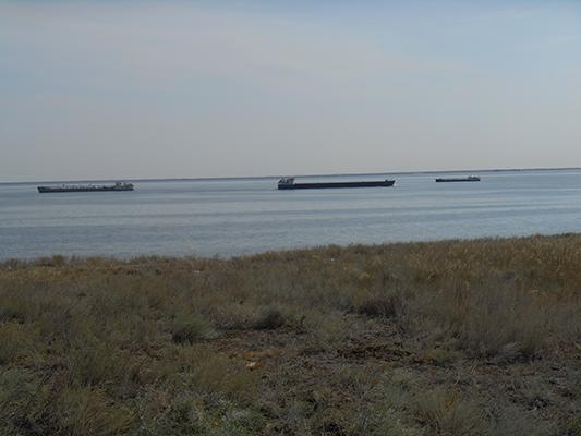 Судоходство активное. Волга живет и это радует.