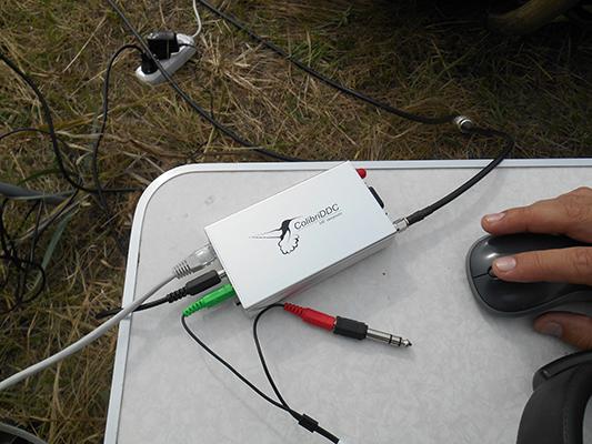 """Тест HF SDR приемника """"ColibriDDC"""". Работает :)"""