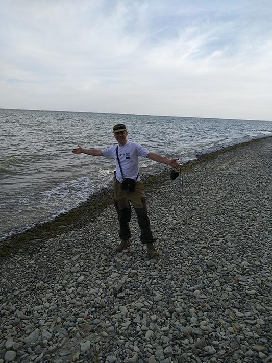 Волны, галька, практически море. До новых встреч! 73&11!