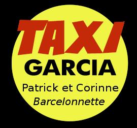 logo taxi garcia barcelonnette ubaye