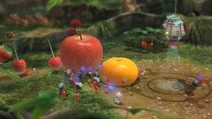 Eure fleißigen Pikmin transportieren die Früchte, aber wer transportiert sie, wenn keine Pikmin mehr da sind?