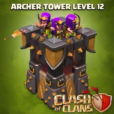 Tour d'archers niveau 12